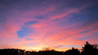 Photograph - October Sky by Denise   Hoff