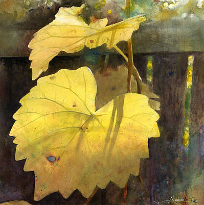Painting - October Sunday by Andrew King