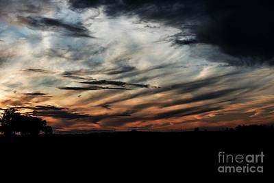 Photograph - October Sunset - 4 by David Bearden