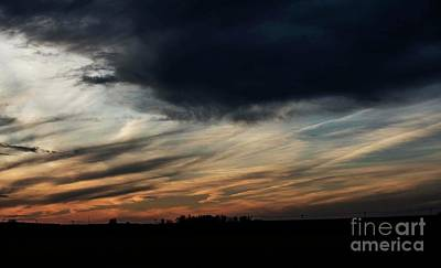 Photograph - October Sunset - 5 by David Bearden