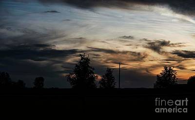 Photograph - October Sunset - 6 by David Bearden