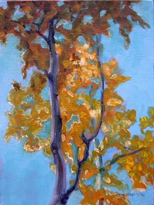 October Art Print by Tahirih Goffic