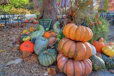 Main Street Photograph - Octoberfest by Steve Stuller