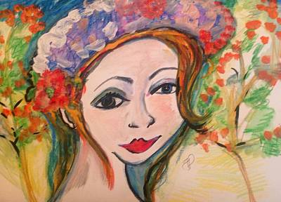 Painting - Octobers Hat  by Judith Desrosiers