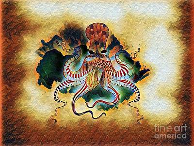 Photograph - Octopus Burn by Deniece Platt