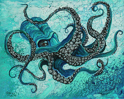 Painting - Octopus by Darice Machel McGuire