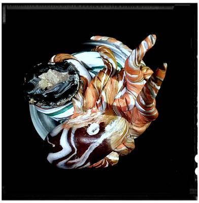 Octopus Geod Art Print