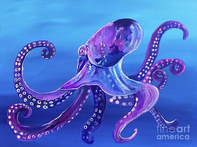 Painting - Octopus by Kim Heil
