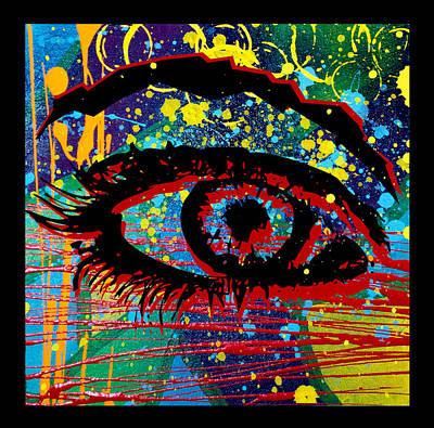 Ocularity  Art Print by Josh Brown