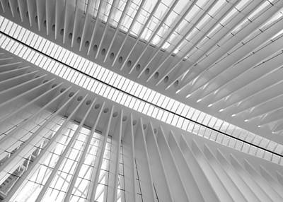 Photograph - Oculus Skylight 2 by Jessica Jenney