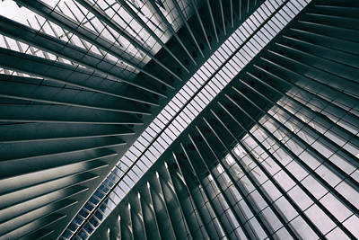 Photograph - Oculus Skylight by Jessica Jenney