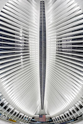 Photograph - Oculus World Trade Center Wtc Skylight by Susan Candelario