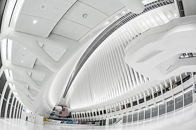 Photograph - Oculus World Trade Center Wtc Transit by Susan Candelario