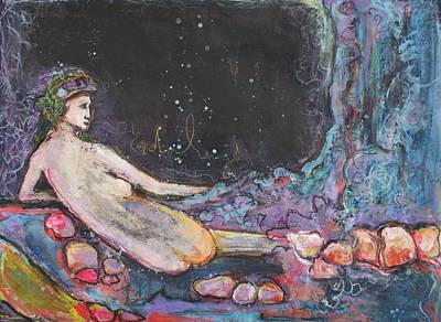 Painting - Odalisque 2015 by Laurie Maves ART