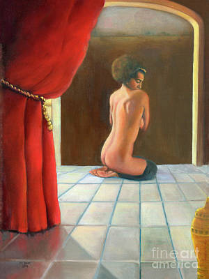 Painting - Odalisque 2016 by Marlene Book