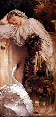 Odalisque Digital Art - Odalisque  by Lord Frederick Leighton