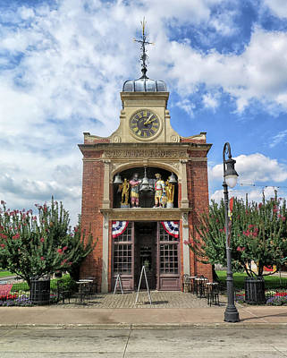 Photograph - Odd Building At Greenfield Village by Dave Mills