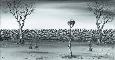 Painting - Odd Couple. by Kenneth Clarke