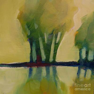Painting - Odd Little Trees by Michelle Abrams