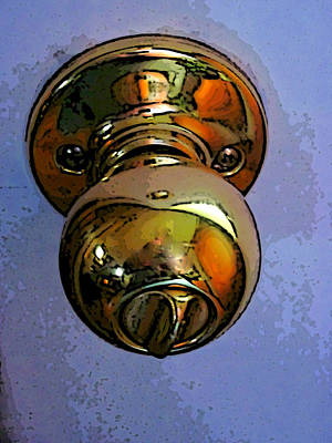 Photograph - Ode To A Doorknob by Guy Ricketts