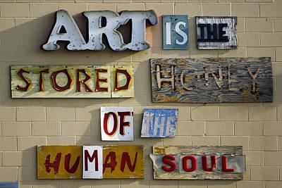 Ode Photograph - Ode To Art by Jill Reger