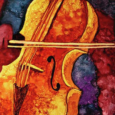 Painting - Ode To Bach by Jennifer Allison