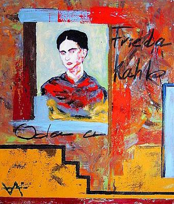 Ode To Frieda Khalo Original by Osvaldo Chacon