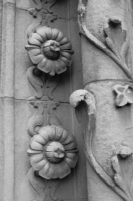 Floral Photograph - Ode To Julia Morgan - Architectural Detail II by Suzanne Gaff