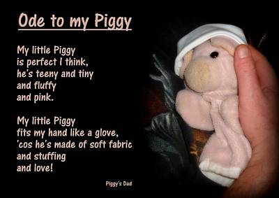 Pig Photograph - Ode To My Piggy by Piggy