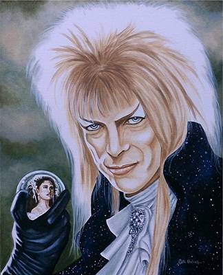 Painting - Ode To The Goblin King by Al  Molina