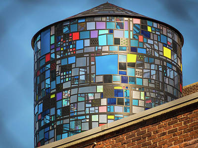 Photograph - Ode To Water Towers by Robin Zygelman