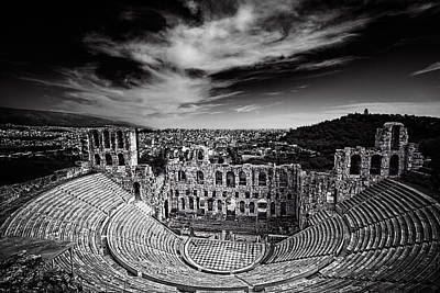 Odeon Of Herodes Atticus Art Print