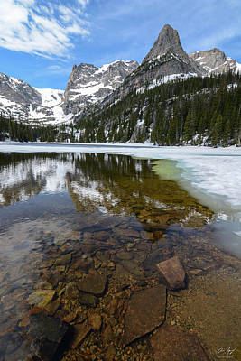 Photograph - Odessa Lake Vertical by Aaron Spong