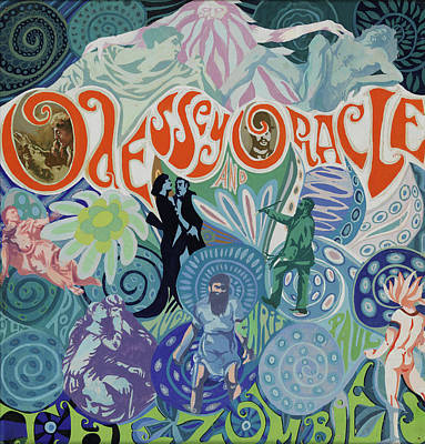 Band Digital Art - Odessey And Oracle - Album Cover Artwork by The Zombies Official