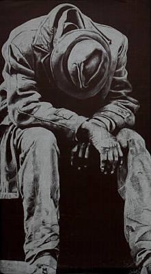 Odis Art Print by Lamark Crosby
