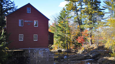 Photograph - Odle Grist Mill by Jim Brage
