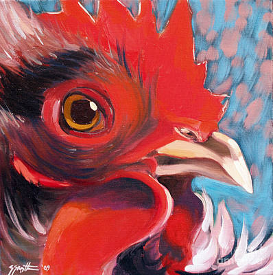 Painting - Oeil De Poulet by Sandra Smith-Dugan