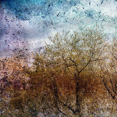 Of Birds And Trees  Art Print