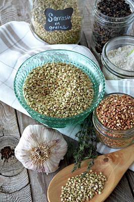 Photograph - Of Buckwheat In Abundance by Nadine Primeau