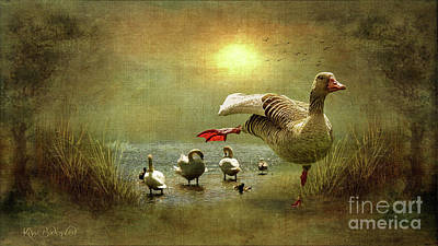Photograph - Of Course I Can Do Swan Lake by Kira Bodensted