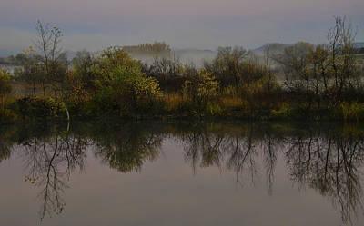 Photograph - Of Fall And Mists by Rae Ann  M Garrett