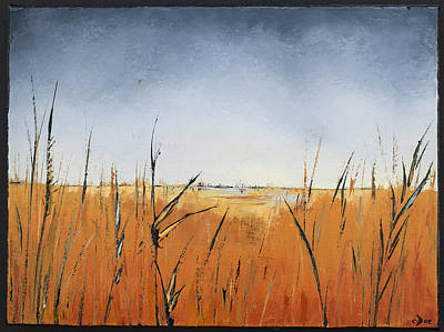 Of Grass And Seed Art Print by Carolyn Doe