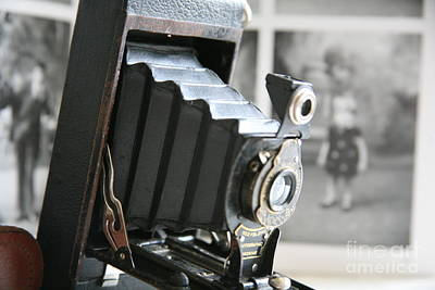 Photograph - Of Its Time ...vintage Autographic Kodak Brownie by Lynn England
