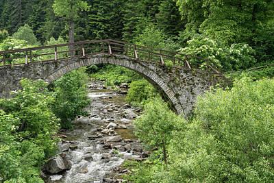 Photograph - Of Mountain Creeks And Olden Bridges by Georgia Mizuleva