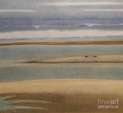 Pastel - Of Sea And Sand And Sky by Robert Coppen