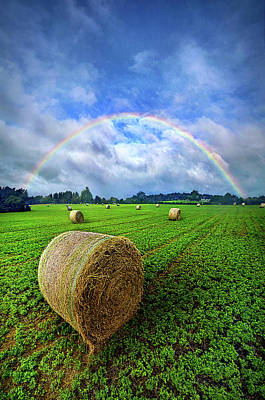 Bale Photograph - Of The Light So Pure And True by Phil Koch