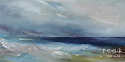 Painting - Of Tides That Never by Kristine Kainer