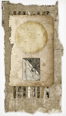 Assemblage Photograph - Of Time And Paper by Carol Leigh