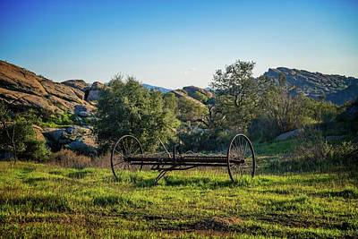Photograph - Of Times Past In Simi Valley by Lynn Bauer