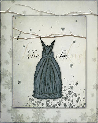 Digital Art - Of True Love Fairie Dress by Christina VanGinkel